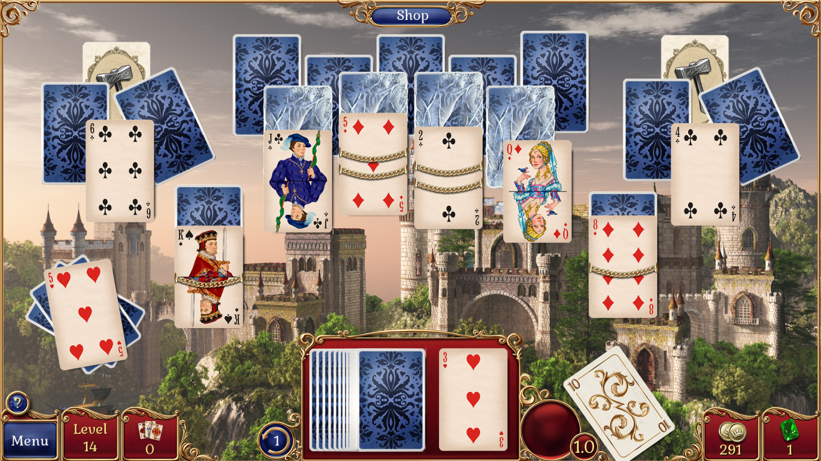 Jewel Match Solitaire Screenshot 1