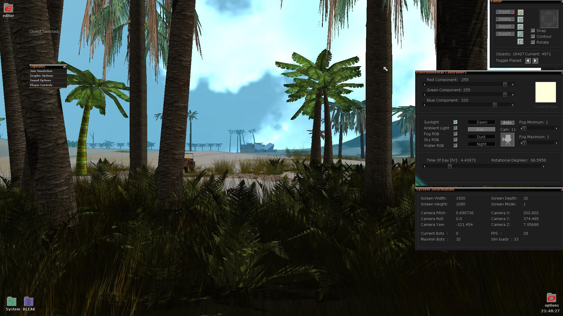 Bleak Editor - Blitz3D