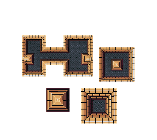 Base top down tileset from reference