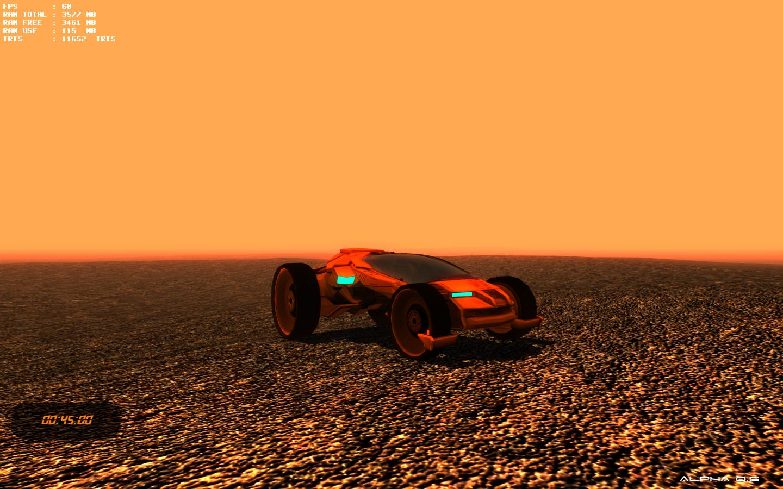 Tesla Mars on Mars