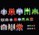 Pixelart Spaceships 32x32px