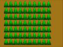 Generated Pixel Art Pine Trees